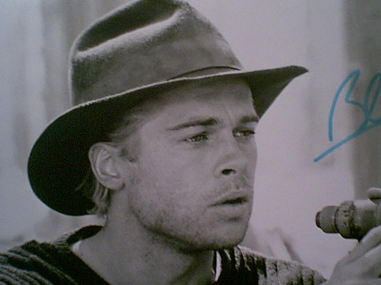 "Pitt, Brad Photo Signed Autograph ""Seven Years In Tibet"" 1997 Movie Scene"