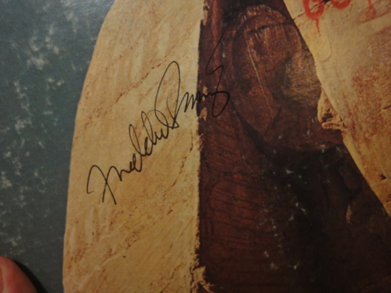 """Prinze, Freddie """"Looking Good"""" 1975 LP Signed Autograph """"Hunga Rican"""""""