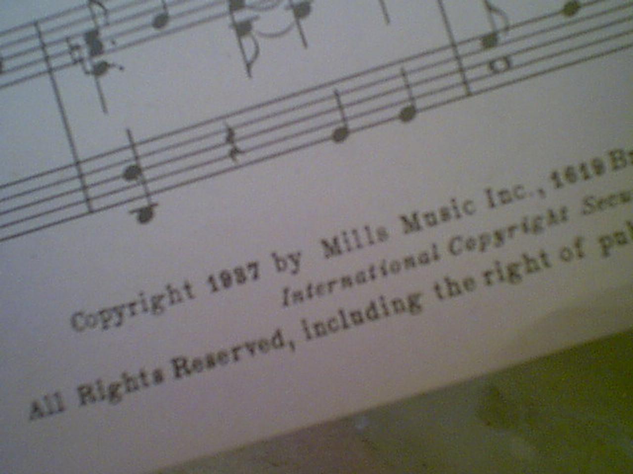 "Robinson, Bill & Cab Calloway ""She'S Tall She'S Tan She'S Terrific"" 1937 Sheet Music Signed Autograph Cotton Club Parade Photos"