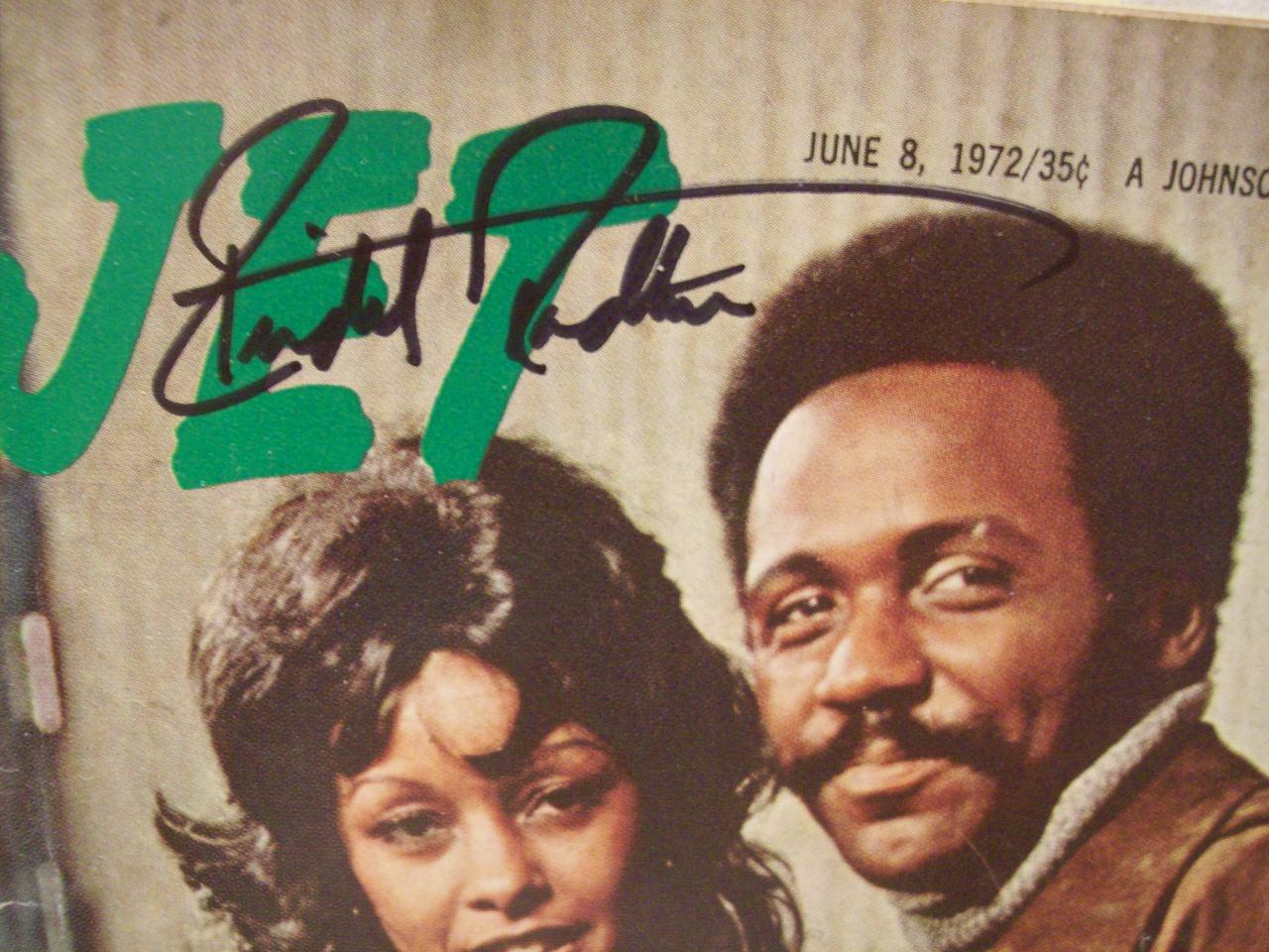 Roundtree, Richard Jet Magazine Signed Autograph 1972