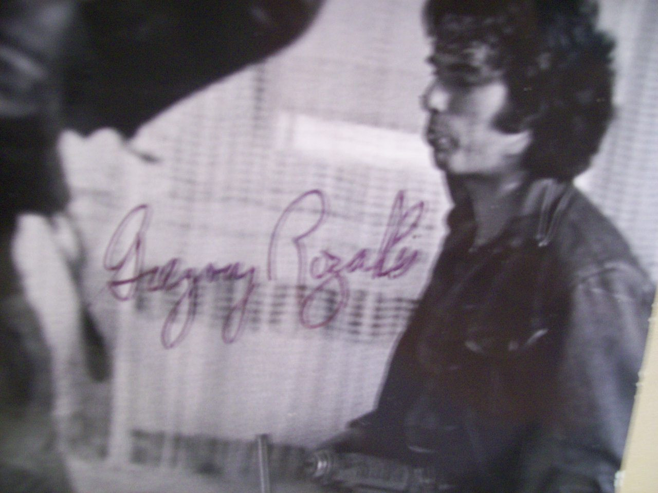 Rozakis, Gregory Photo Signed Autograph Death Wish 1974