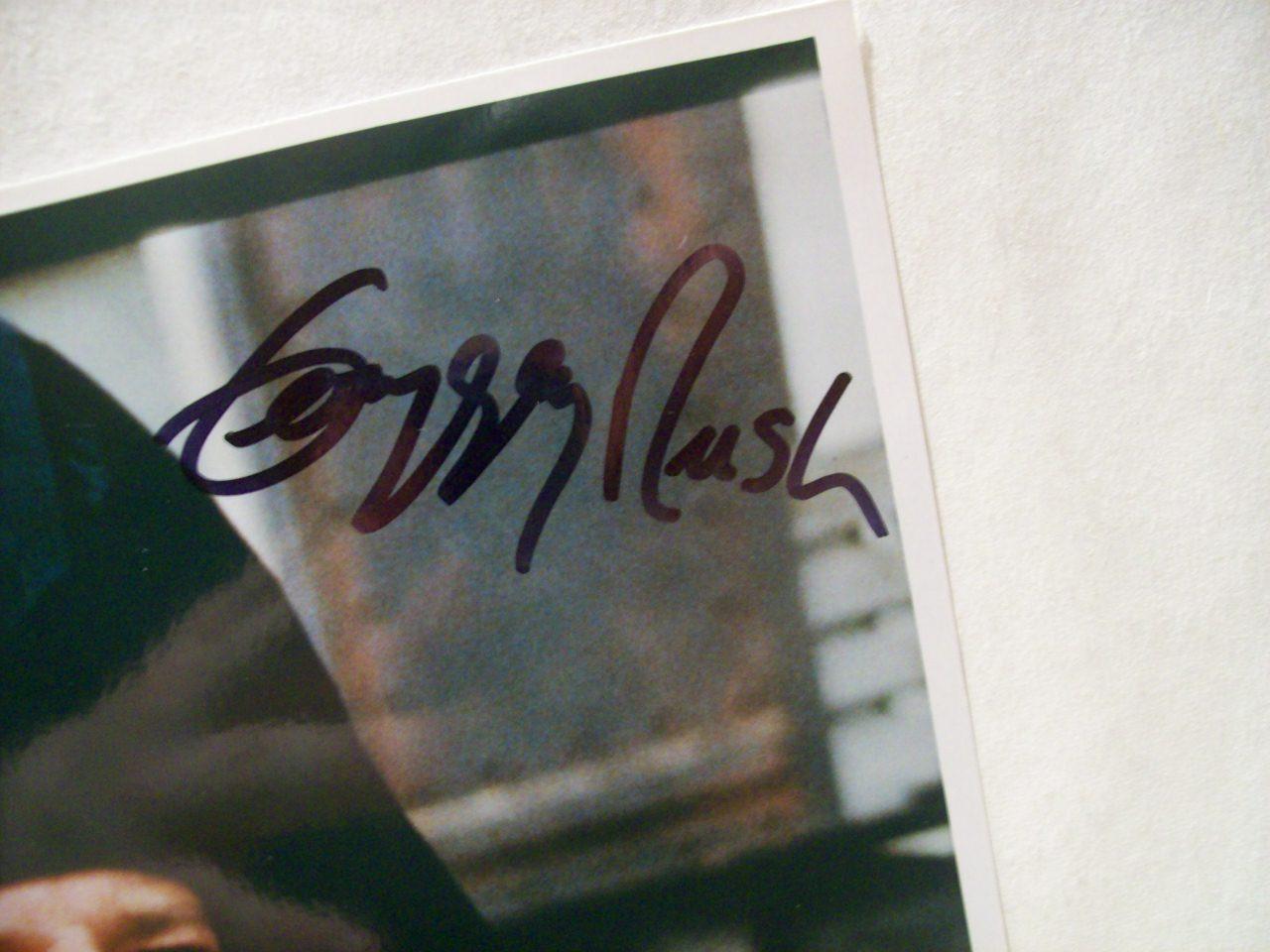 Rush, Geoffrey Photo Signed Autograph Shine