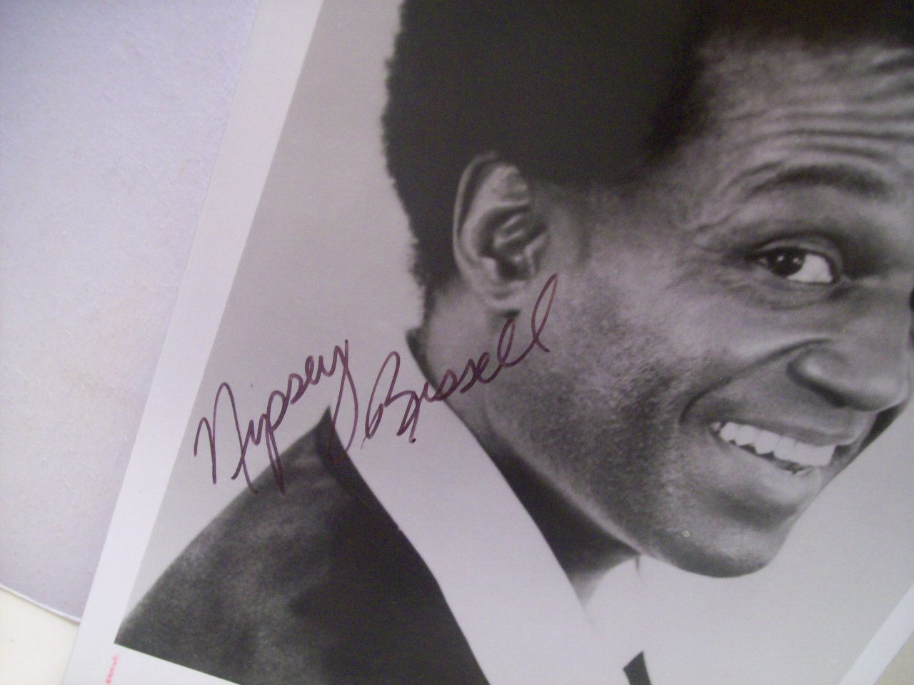 Russell, Nipsey Photo Signed Autograph The Wiz
