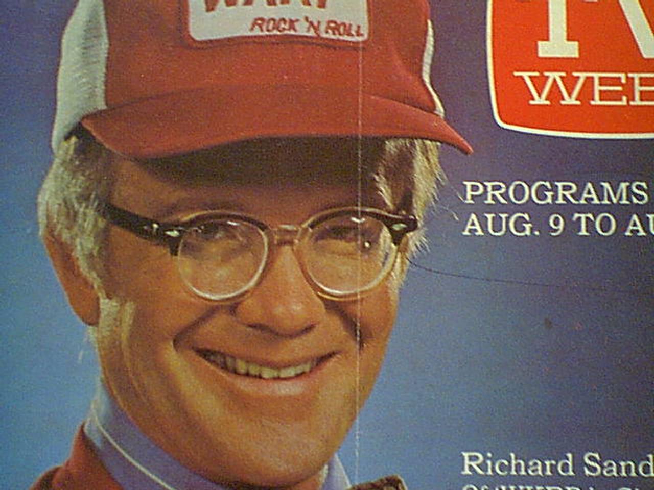 "Sanders, Richard TV Week Magazine 1981 Signed Autograph ""WKRP In Cincinnati"" Color Cover Photo"