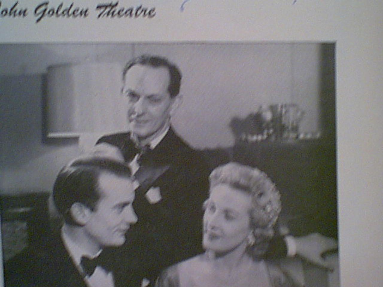 "Schildkraut, Joseph 1951 Playbill Signed Autograph ""The Green Bay Tree"" Cover Photo"