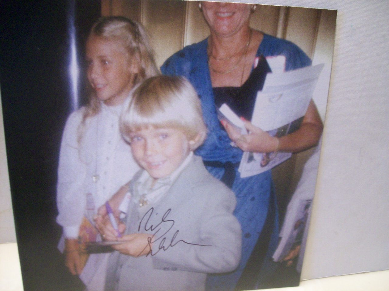 Schroder, Ricky Photo Signed Autograph Silver Spoons