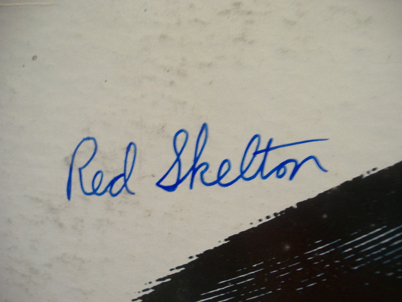 """Skelton, Red (Liberty - 7425) """"Conducts"""" Signed Autograph LP."""