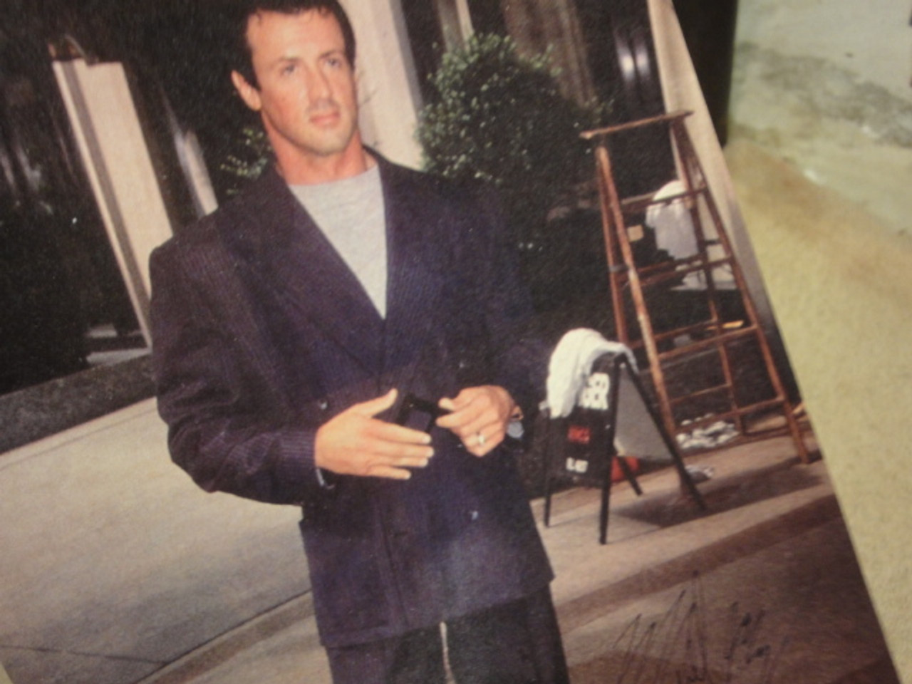 Stallone, Sylvester Color Photo Signed Autograph