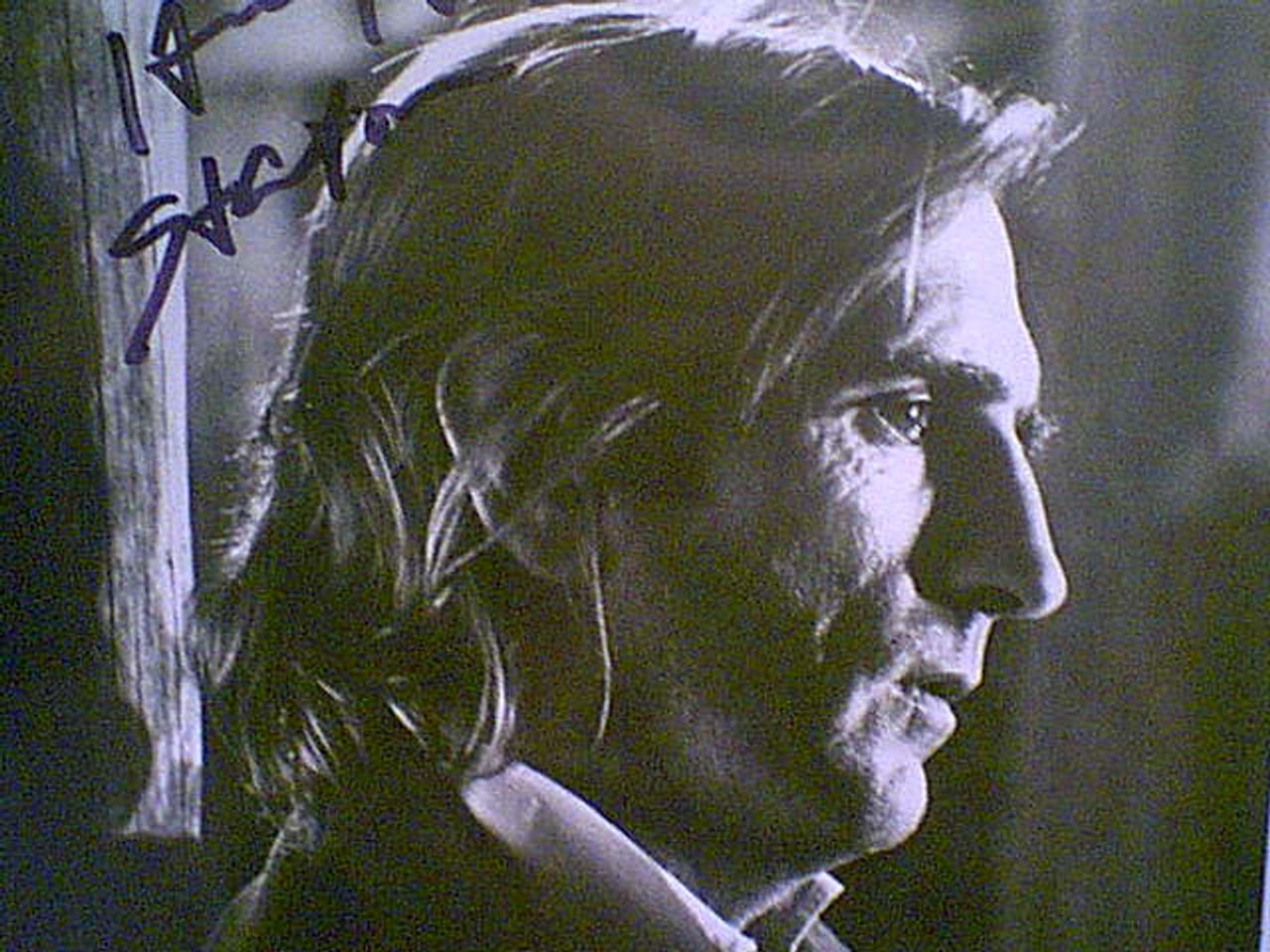 Stanton, Harry Dean Photo Signed Autograph Movie Scene