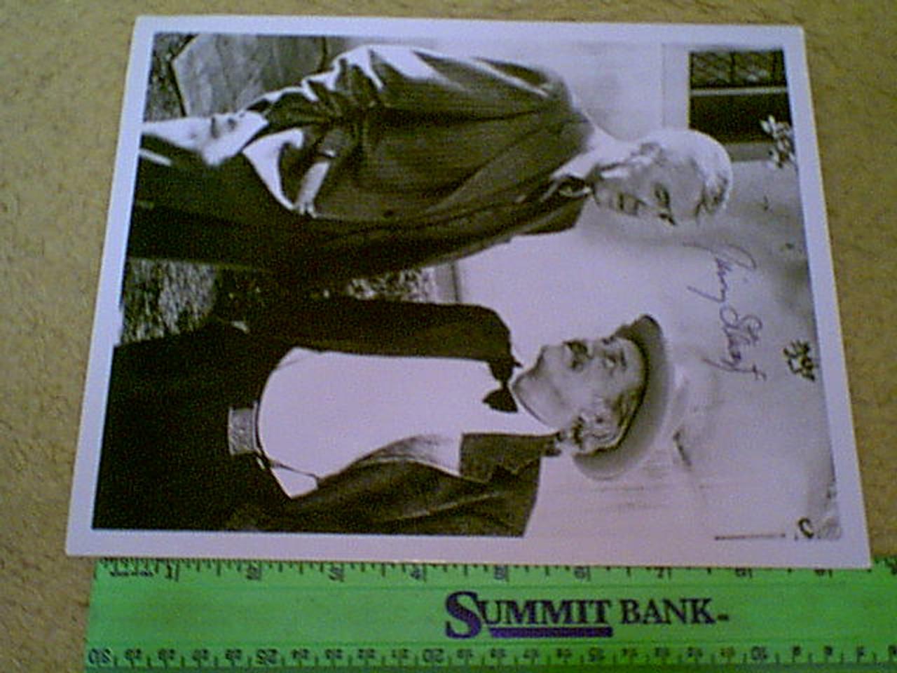 "Stewart, Jimmy James 1973 Photo ""Hawkins On Murder"" Signed Autograph Movie Scene"