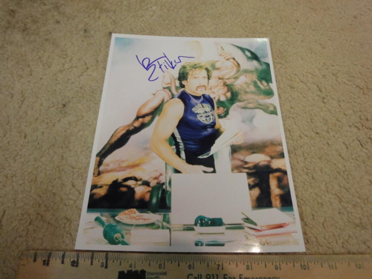 Stiller, Ben Color Photo Signed Autograph Movie Scene