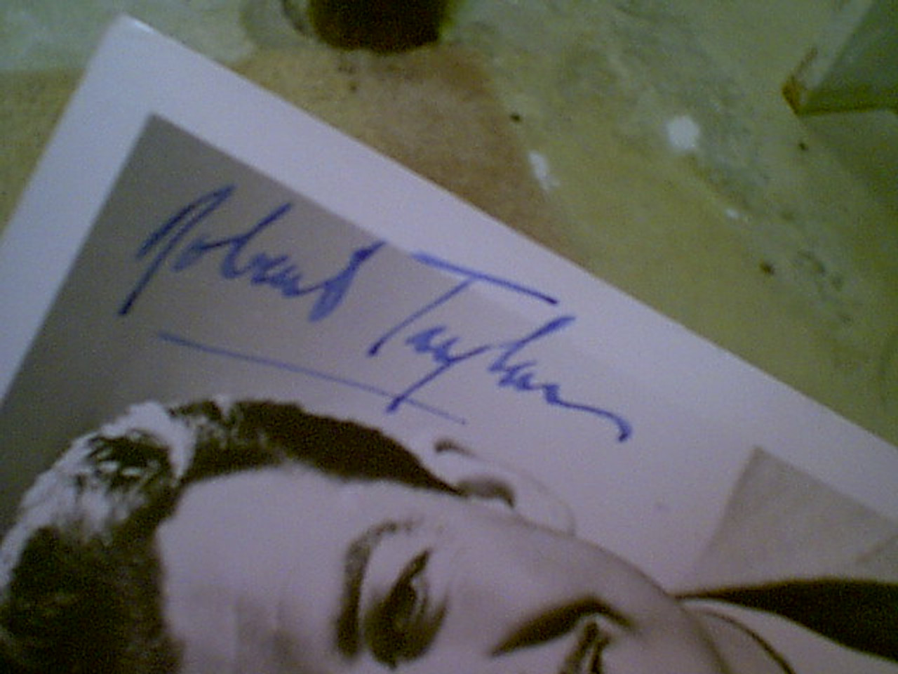 Taylor, Robert Photo Signed Autograph 1950'S