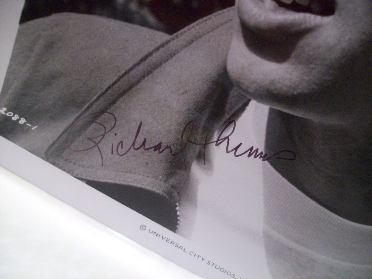 Thomas, Richard Photo Signed Autograph September 30 1955