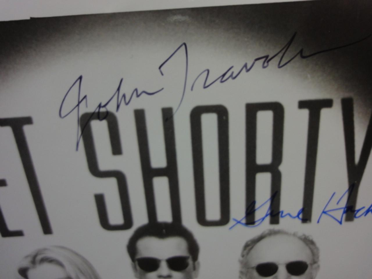 "Travolta, John Gene Hackman Danny DeVito ""Get Shorty"" 1995 Photo Signed Autograph Movie Scene"