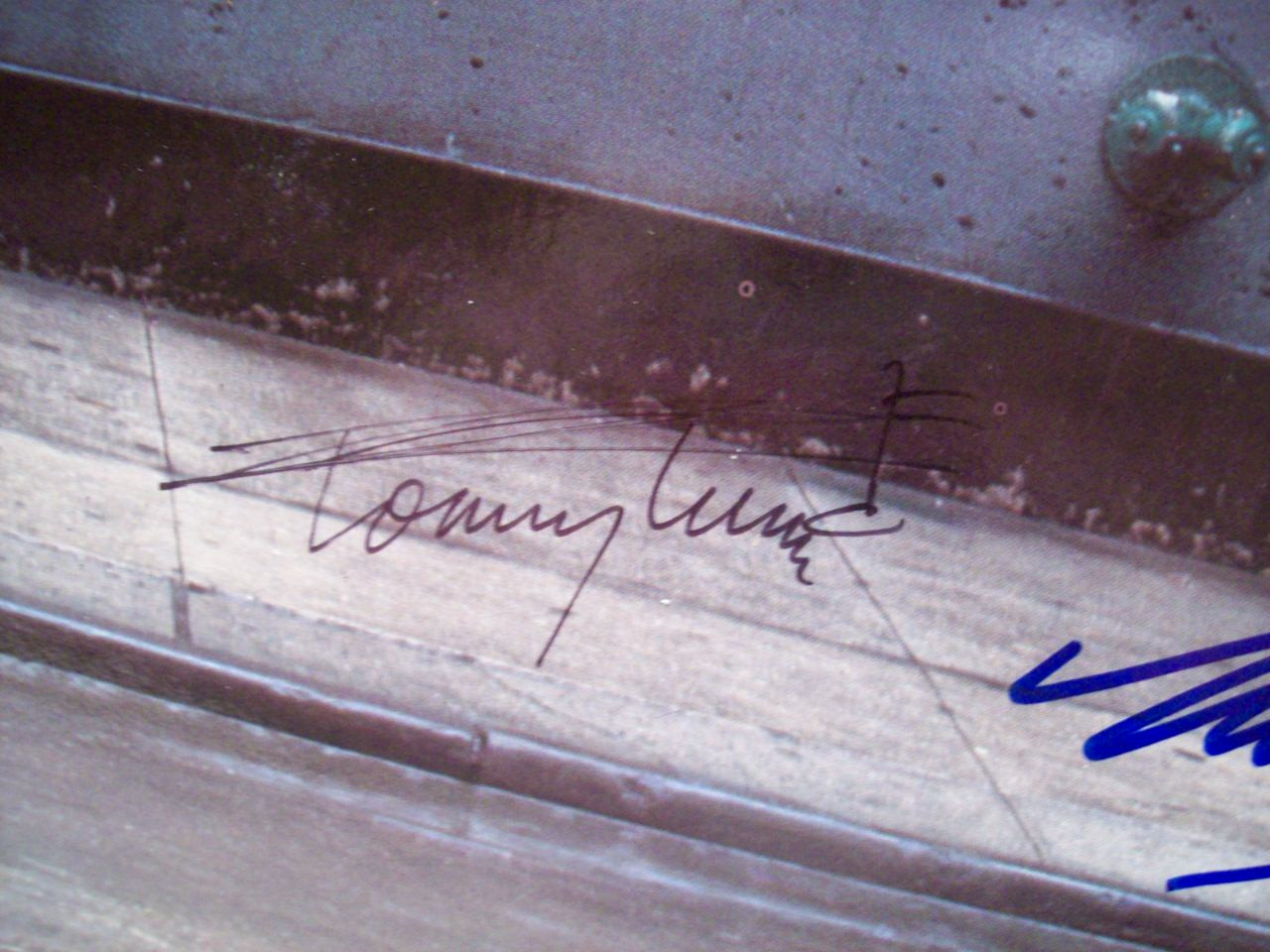 Tune, Tommy Twiggy LP Signed Autograph My One And Only 1983