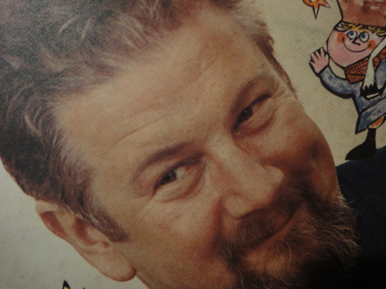 """Ustinov, Peter """"Peter And The Wolf"""" 1959 LP Signed Autograph Classical"""