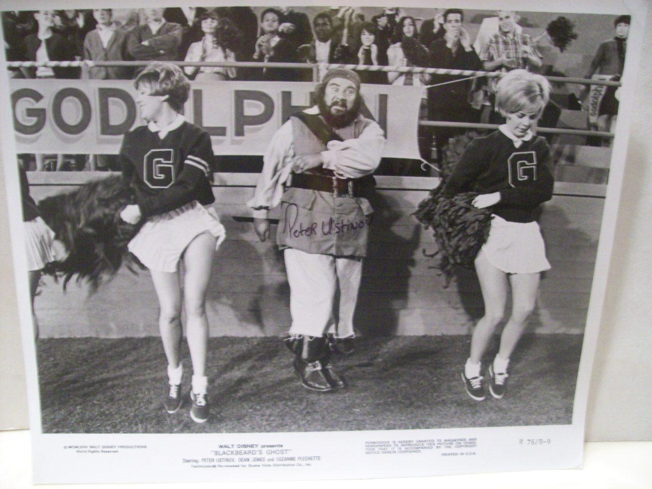 Ustinov, Peter Photo Signed Autograph Blackbeard'S Ghost Walt Disney 1977