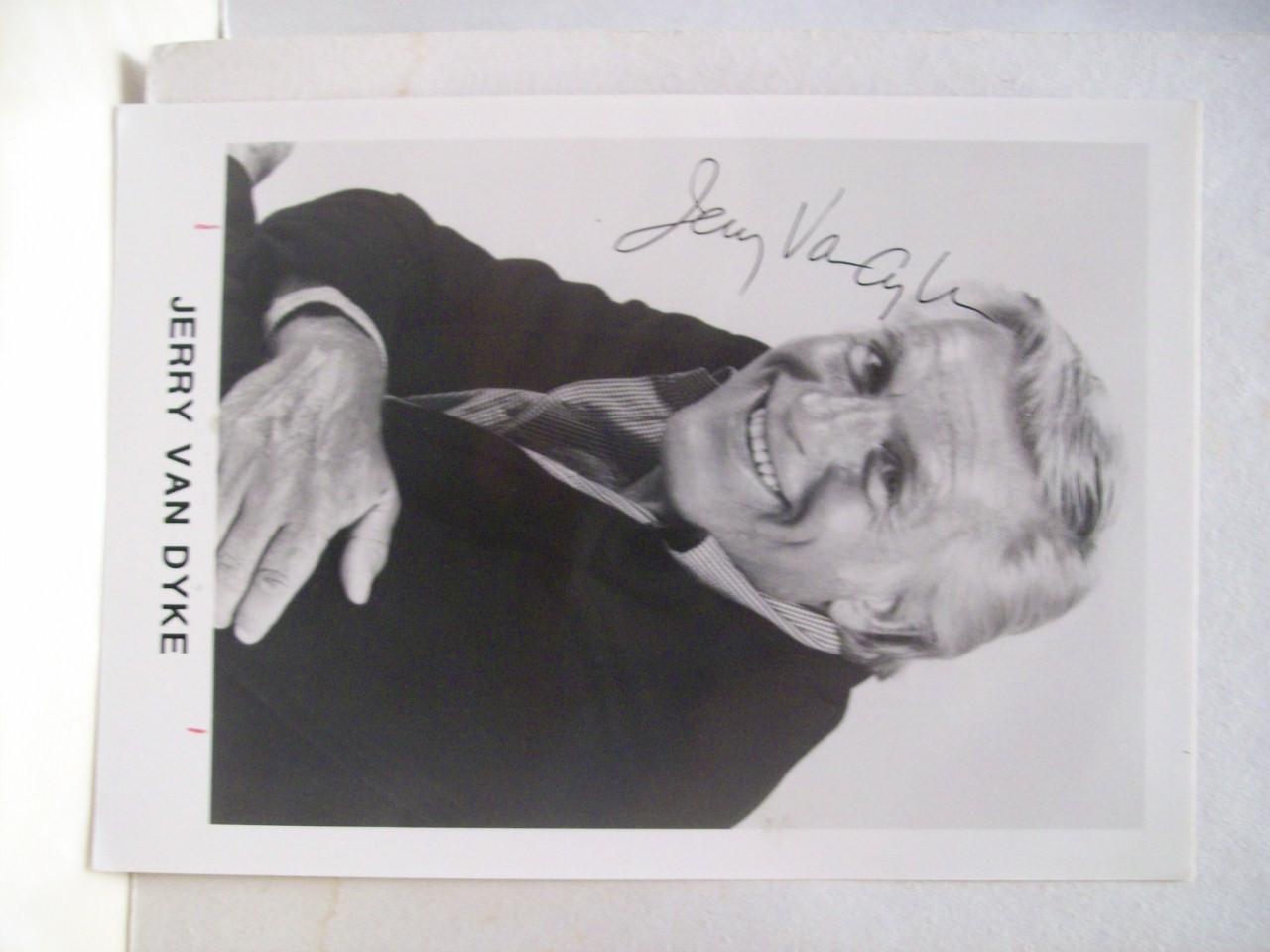 Van Dyke, Jerry Photo Signed Autograph Dick Van Dyke Show
