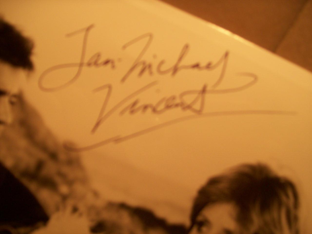 Vincent, Jan-Michael Photo Signed Autograph Airwolf 1985