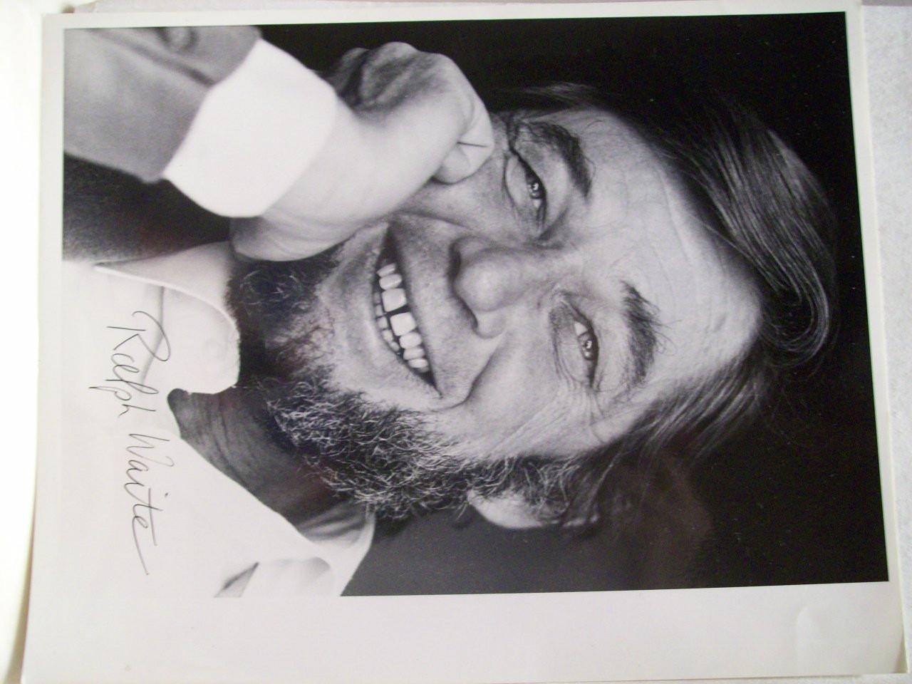 Waite, Ralph Photo Signed Autograph Carnivale The Waltons