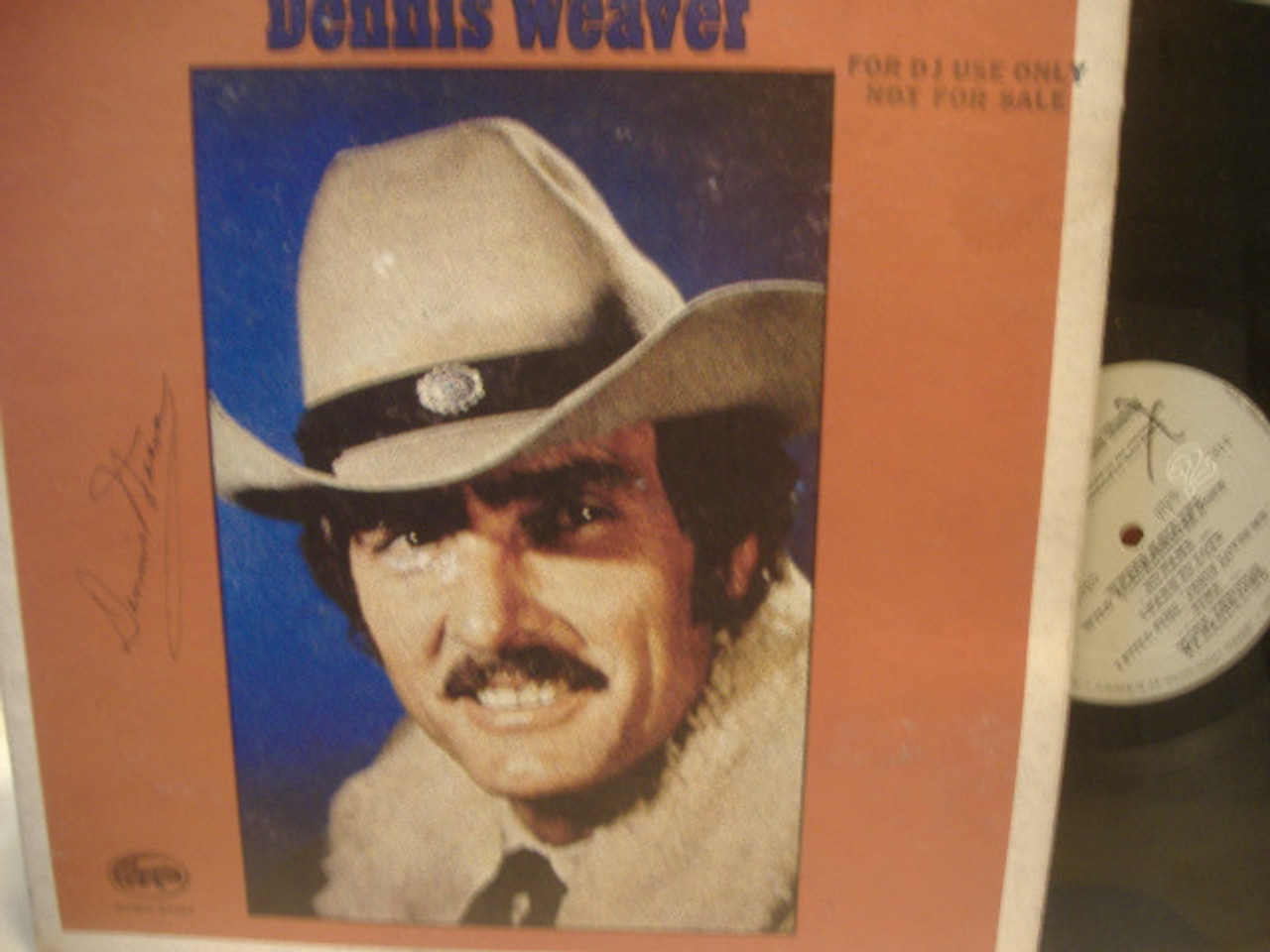 Weaver, Dennis LP Signed Autograph Another Way