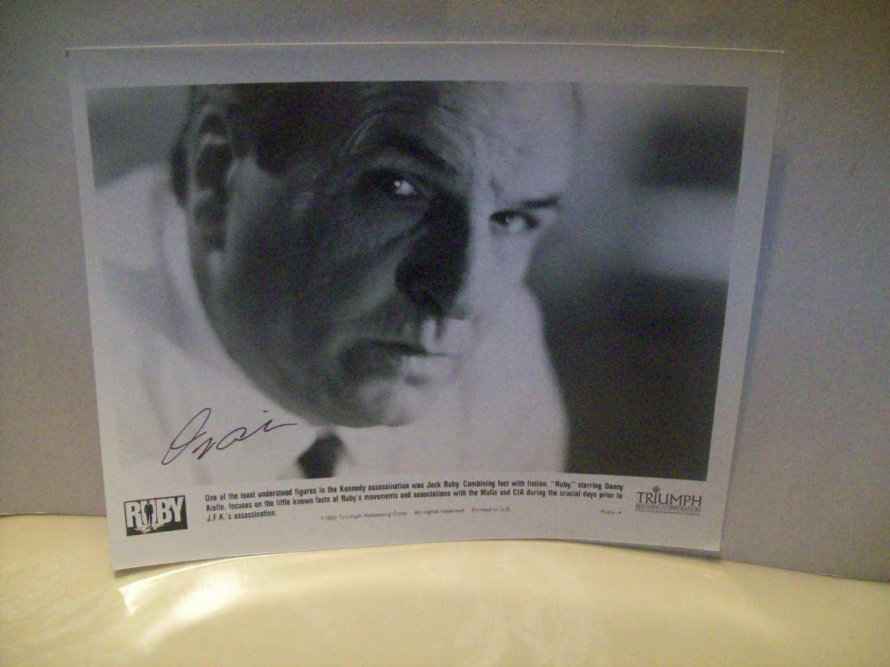 Aiello, Danny Photo Autograph Ruby 1992