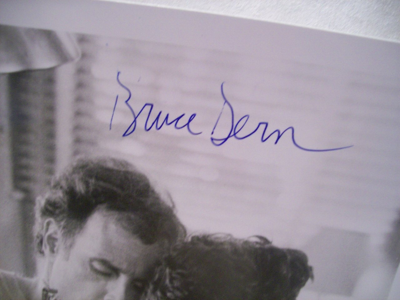 Dern, Bruce Photo Signed Autograph Tattoo