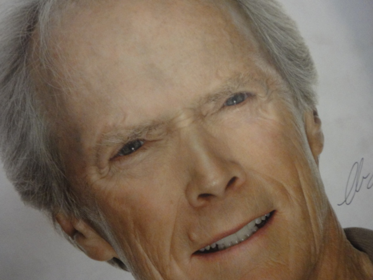 Eastwood, Clint Color Photo Signed Autograph - Movie