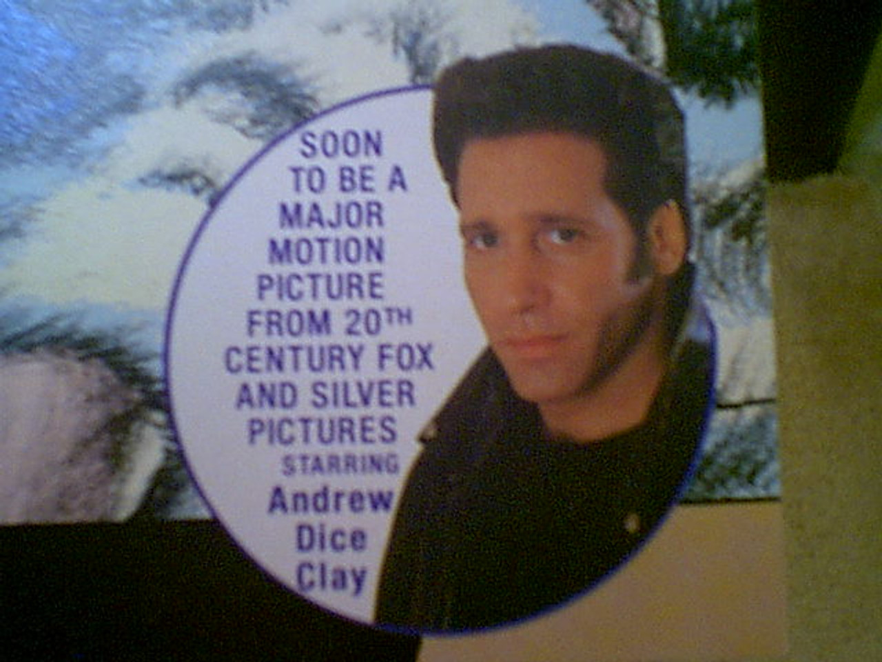 """Clay, Andrew Dice """"The Adventures Of Ford Fairlane"""" No. 2 1990 Comic Book Signed Autograph Illustrated"""
