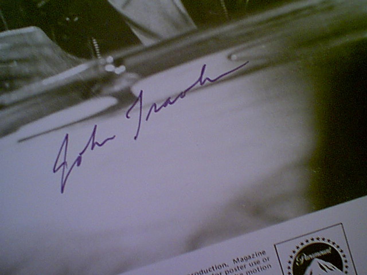 "Newton John Olivia & John Travolta ""Grease"" 1977 Photo Signed Autograph Movie Scene"