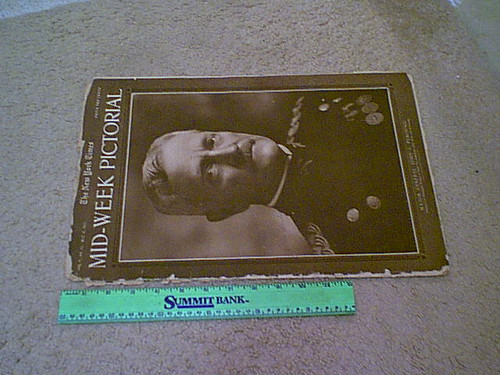Pershing, General John J. New York Times Pictorial Magazine 1917 Signed Autograph World War 1