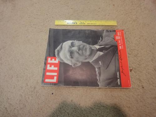 Stilwell, Joseph W General Life Magazine 1942 Signed Autograph WW II Photos