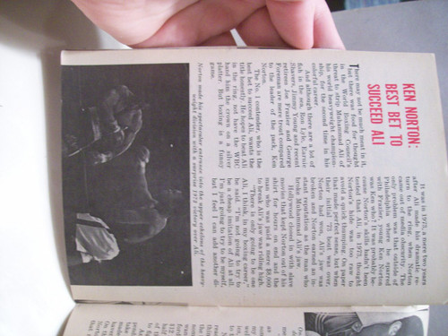 Norton, Ken Jet Magazine Signed Autograph 1977