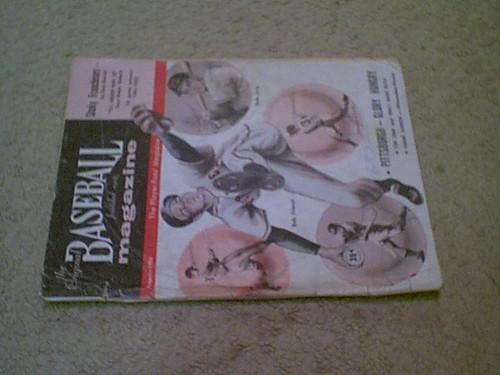 "Friend, Bob ""The Original Baseball Magazine"" 1956 Signed Autograph Cover Pittsburgh Pirates"