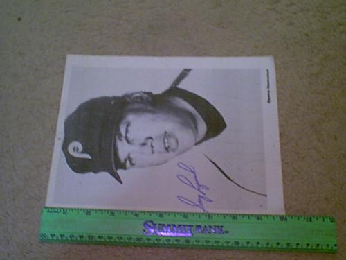 Luzinski, Greg Photo Signed Autograph Baseball Philadelphia Phillies