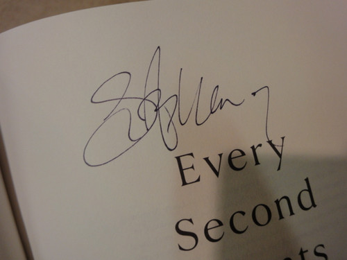 """Armstrong, Lance """"Every Second Counts"""" 2003 Book Signed Autograph Photo"""