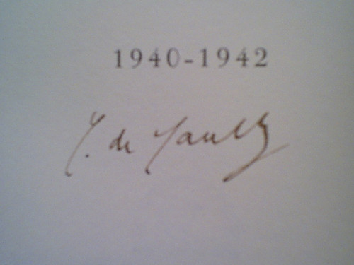 """De Gaulle, General Charles """"The Call To Honour 1940-1942 Memoirs"""" Book 1955 Signed Autograph Photos France Ww Ii"""