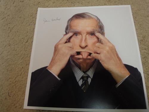 Healey, Denis Color Photo Signed Autograph Great Britain Parliament