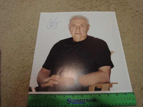 Gehry, Frank Color Photo Signed Autograph