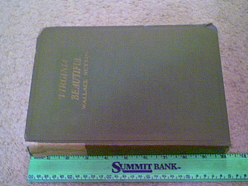 """Nutting, Wallace """"Virginia Beautiful"""" 1930 Book Signed Autograph 330 Illustrations"""