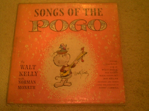 """Kelly, Walt """"Songs Of The Pogo"""" 1956 LP Signed Autograph"""