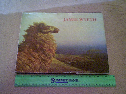 """Wyeth, Jamie """"Jamie Wyeth"""" 1980 Book Signed Autograph Color Illustrations First Edition"""