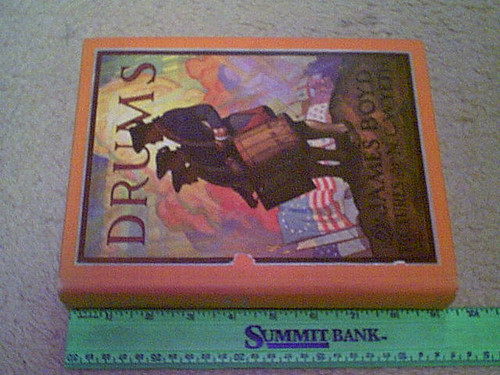 """Wyeth, N. C. """"Drums"""" 1928 Book Signed Autograph Color Illustrations James Boyd Author"""