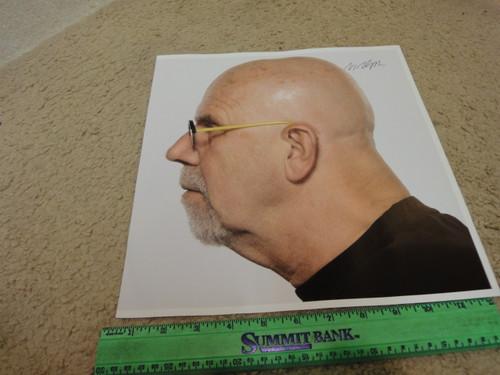 Close, Chuck Color Photo Signed Autograph Painter Profile