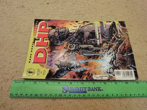 """Grant, Alan """"DHP"""" 1998 Graphic Novel Signed Autograph Illustrated"""