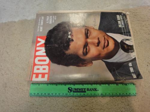 Bond, Julian Ebony Magazine 1969 Signed Autograph Color Cover Photo
