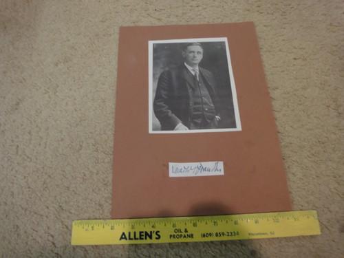 Brandeis, Louis Photo Signed Autograph Supreme Court