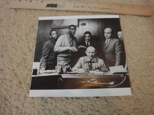 Chess, Leonard Photo Signed Autograph Chess Records