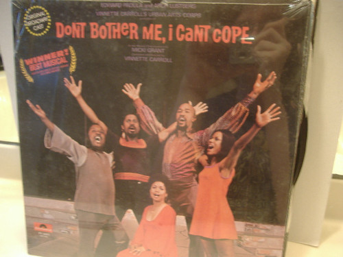 Carroll, Vinnette LP Signed Autograph Don'T Bother Me I Can Cope Sealed