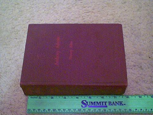 "Allen, Hervey ""Anthony Adverse"" 1933 Book Signed Autograph"